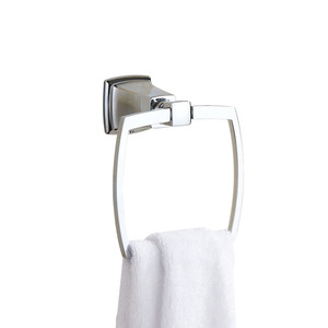 Designer Square Shaped Stainless Steel Towel Rings
