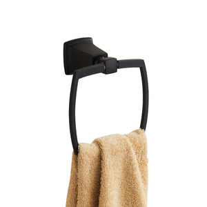 Designer Black Oil Rubbed Bronze Towel Rings
