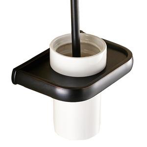 Luxury Black Oil Rubbed Bronze Toilet Brush Holder