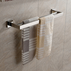 24 inch Double Towel Bars Used Stainless Steel