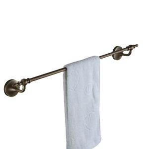 Antique Bronze Single Towel Bars With Brushed Finish