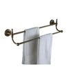Antique Bronze Double Brass Towel Bars