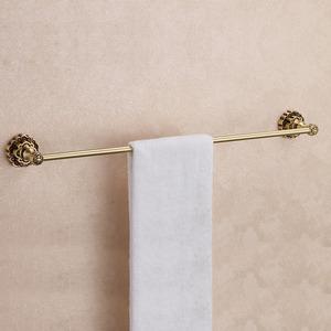 Antique Bronze Brass Single Towel Bars For Bathroom