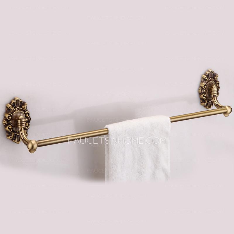Decorative rose gold bathroom accessory towel bars - Bathroom accessories towel bars ...