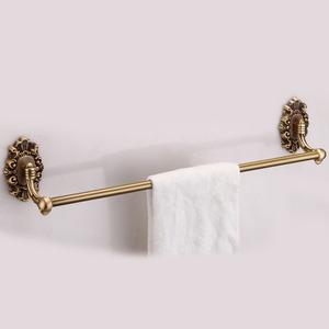 Decorative Rose Gold Bathroom Accessory Towel Bars