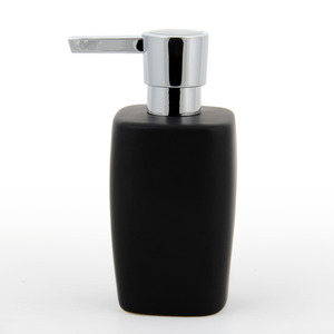 Modern Black Ceramic Table Sitting Soap Dispensers