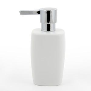 Modern White Ceramic Bathroom Soap Dispensers