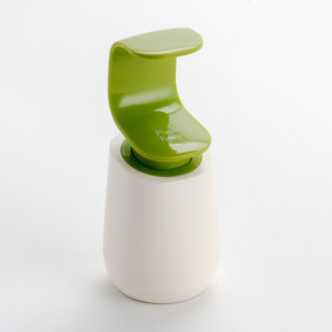 Modern Green Hand Pressing Soap Dispensers