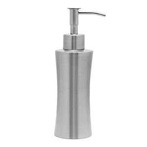 Thick Stainless Steel Pinched Waist Shape Soap Dispensers
