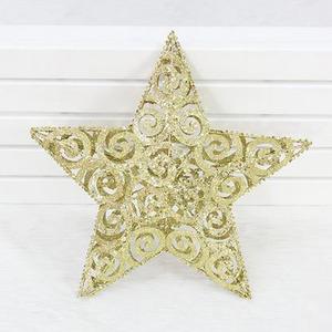 Golden Xmas Star 11.8