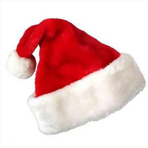 Cotton Red Christmas Hat Free Size