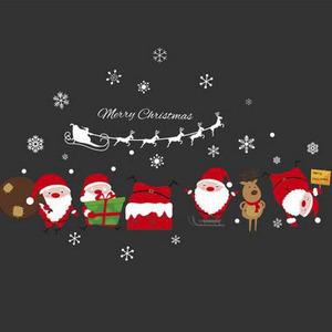 Windows Sticker Santa Claus Pattern 23.6