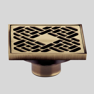 Antique Bronze T-shape Stainless Steel Shower Drains