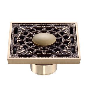 Unique Design Brass Bathroom Shower Drains