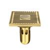 Antique Brass Metal Bathroom Shower Drains