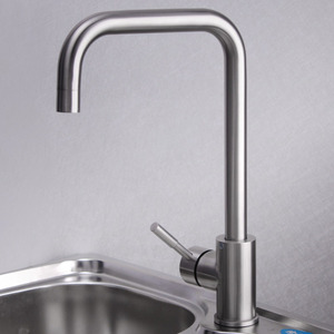 Thick 304 Stainless Steel Rotatable Kitchen Faucets