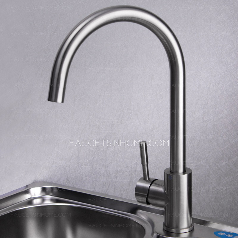 safe stainless steel brushed nickel kitchen faucets rotatable shop danze antioch stainless steel 1 handle pull out