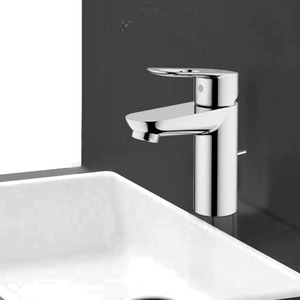 Good Filtering Centerset Chrome Bathroom Water Faucets