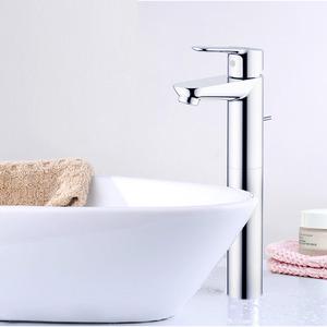 Designer Water Efficient Chrome Bathroom Single Hole Faucets