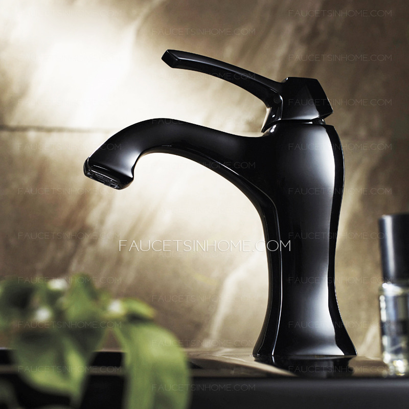Clearance Bathroom Faucets : Vintage Single Hole Painting Filtering Clearance Bathroom Faucets