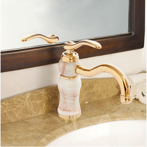 Modern Filtering Polished Jade Contemporary Faucets Bathroom