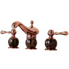 Advanced Rose Gold Two Handles Marble Bathroom Faucets For Less