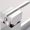 Square Shape Copper Rotatable Pvd Finish Kitchen Faucets