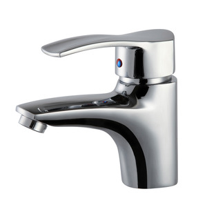 Best Chrome Finish One Hole Bathroom Sink Faucets