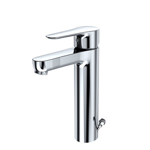 Designed Chrome Finish One Hole Bathroom Sink Faucets