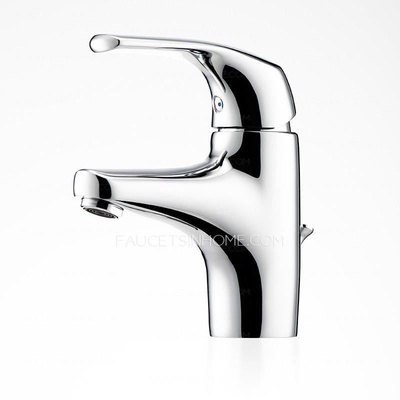 modern design one single handle bathroom sink faucets