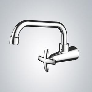 Modern Wall Mount Rotatable Bathroom Sink Faucets