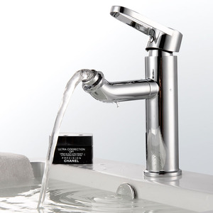 Good Quality Chrome Finish Rotatable For Bathroom Faucet