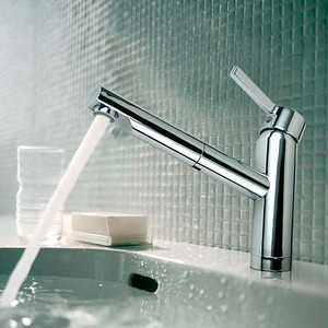 Cool Design Rotatable Pullout Spray Bathroom Faucet