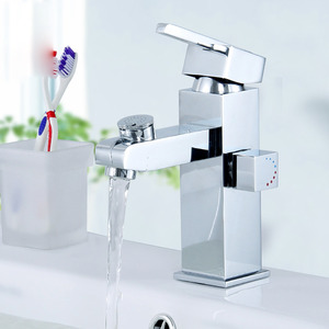 Modern Square Shape Bathroom Sink Faucet
