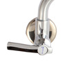 Decorated Wall Mounted Rotatable Kitchen Sink Faucet