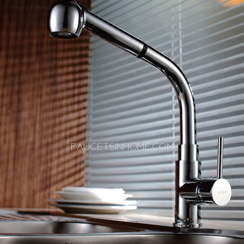 > Kitchen Faucets > Modern Life Copper Hot And Cold Pullout Kitchen