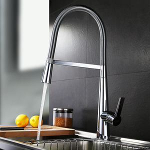 Designed Multiple Function Pullout Faucet For Kitchen
