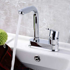 New Arrival 2 Hole Kitchen Faucet Hot And Cold Water