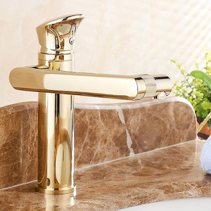Rotatable One Hole Antique Style Bathroom Faucets