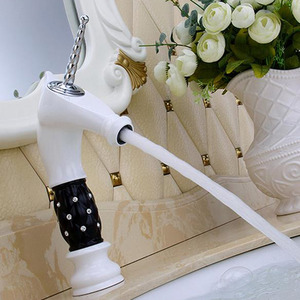 Elegant White American Standard Bathroom Faucets