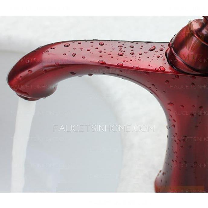 Unique bathroom sink faucets