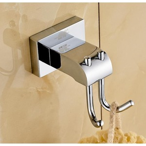 Solid Brass Robe Hooks For Bathroom Electroplated