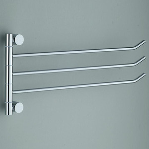 Solid Brass Rotatable Towel Bars Wall Mounted