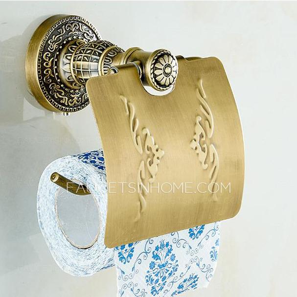 Zinc Alloy Toilet Paper Holder