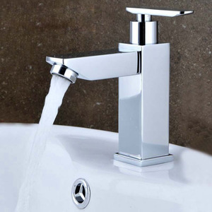 Designed Only Cold Water Artistic Brass Faucets