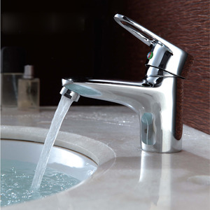 Silver Bathroom Faucets Hot And Cold Water