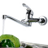 Modern Designed Wall Mounted Faucets Brass Material