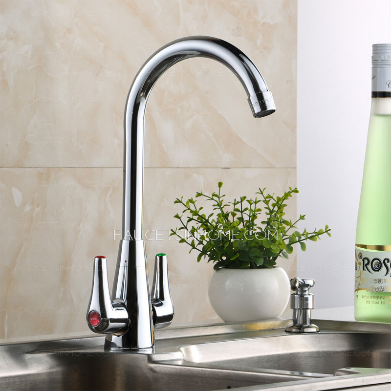 Best Stainless Steel Kitchen Faucet Double Handles