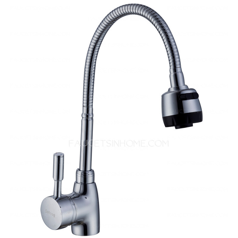 good quality single lever kitchen faucet rain shower good polished nickel silver kitchen sink faucets 154 99