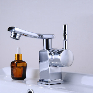 Designer Rotatable Hot And Cold Silver Water Faucets